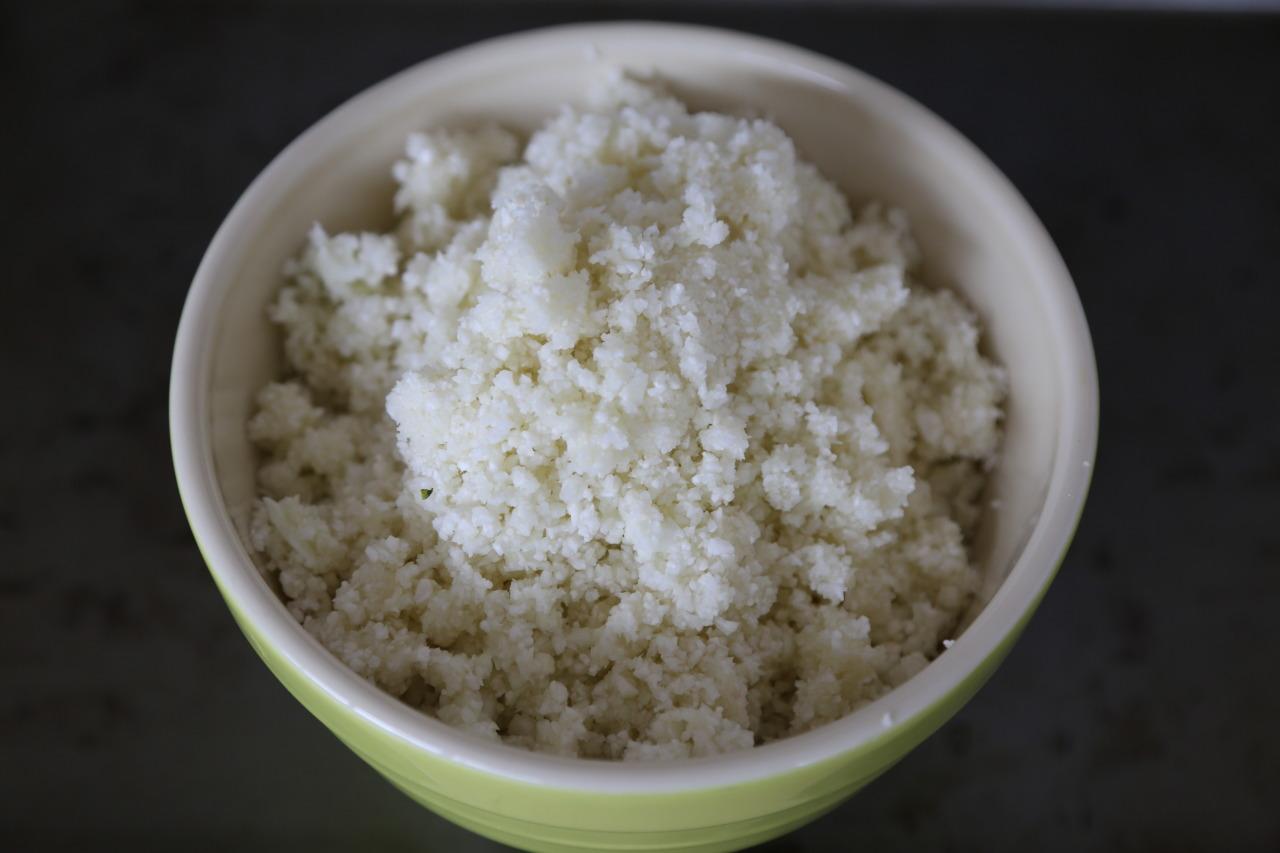Cauliflower rice!