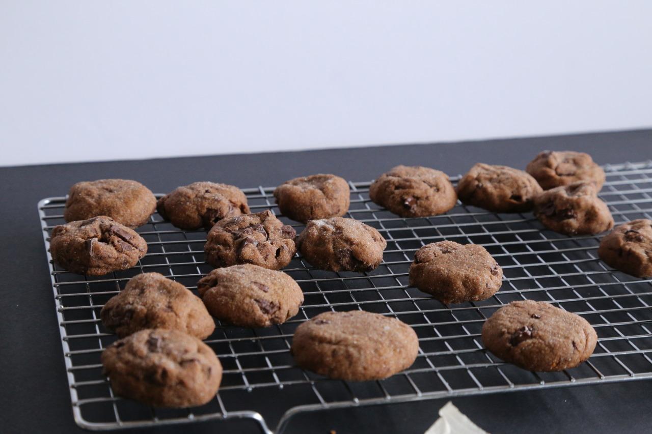 Gooey chocolate gingerbread