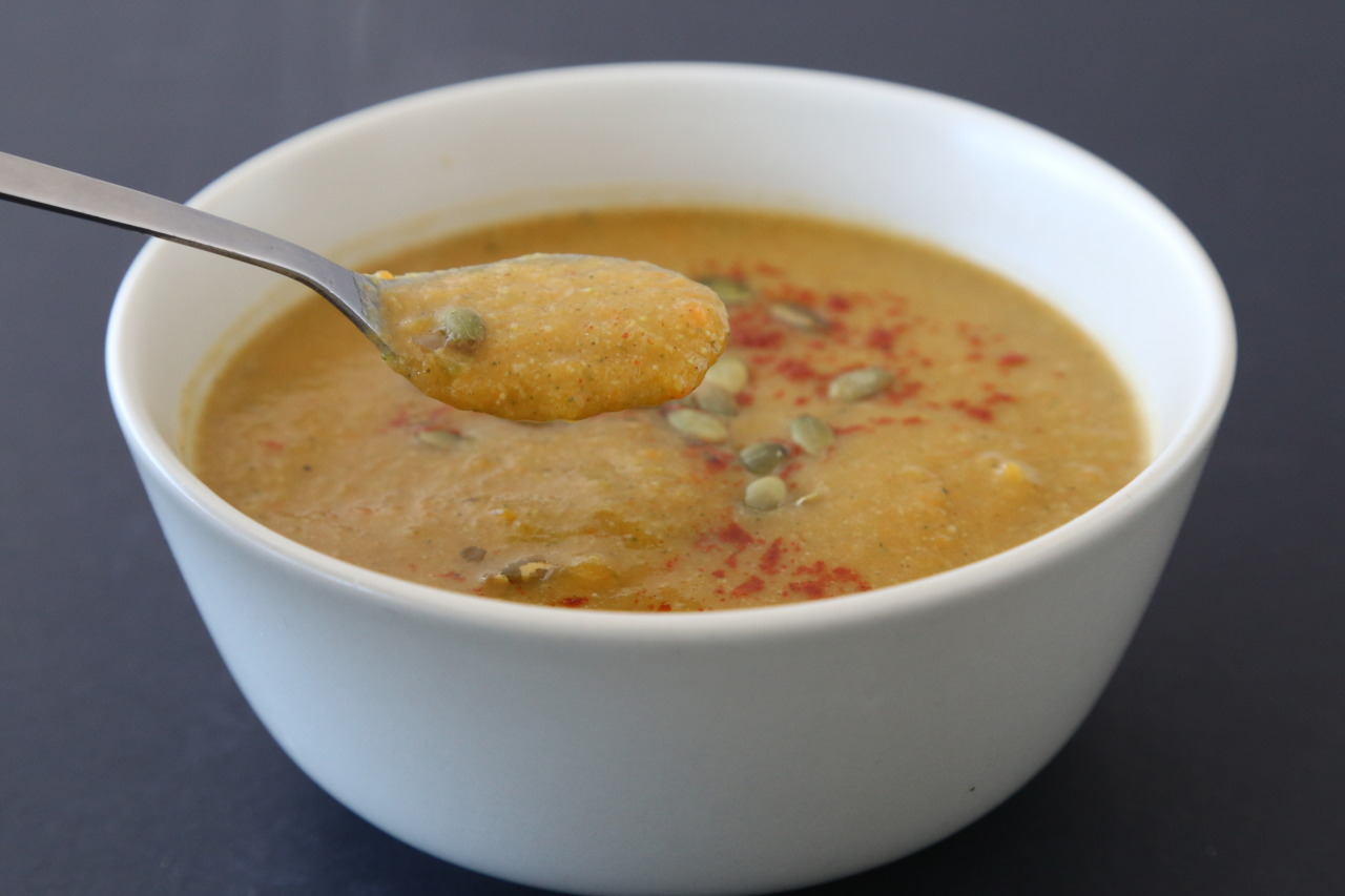 Vegan 7 vegetable soup