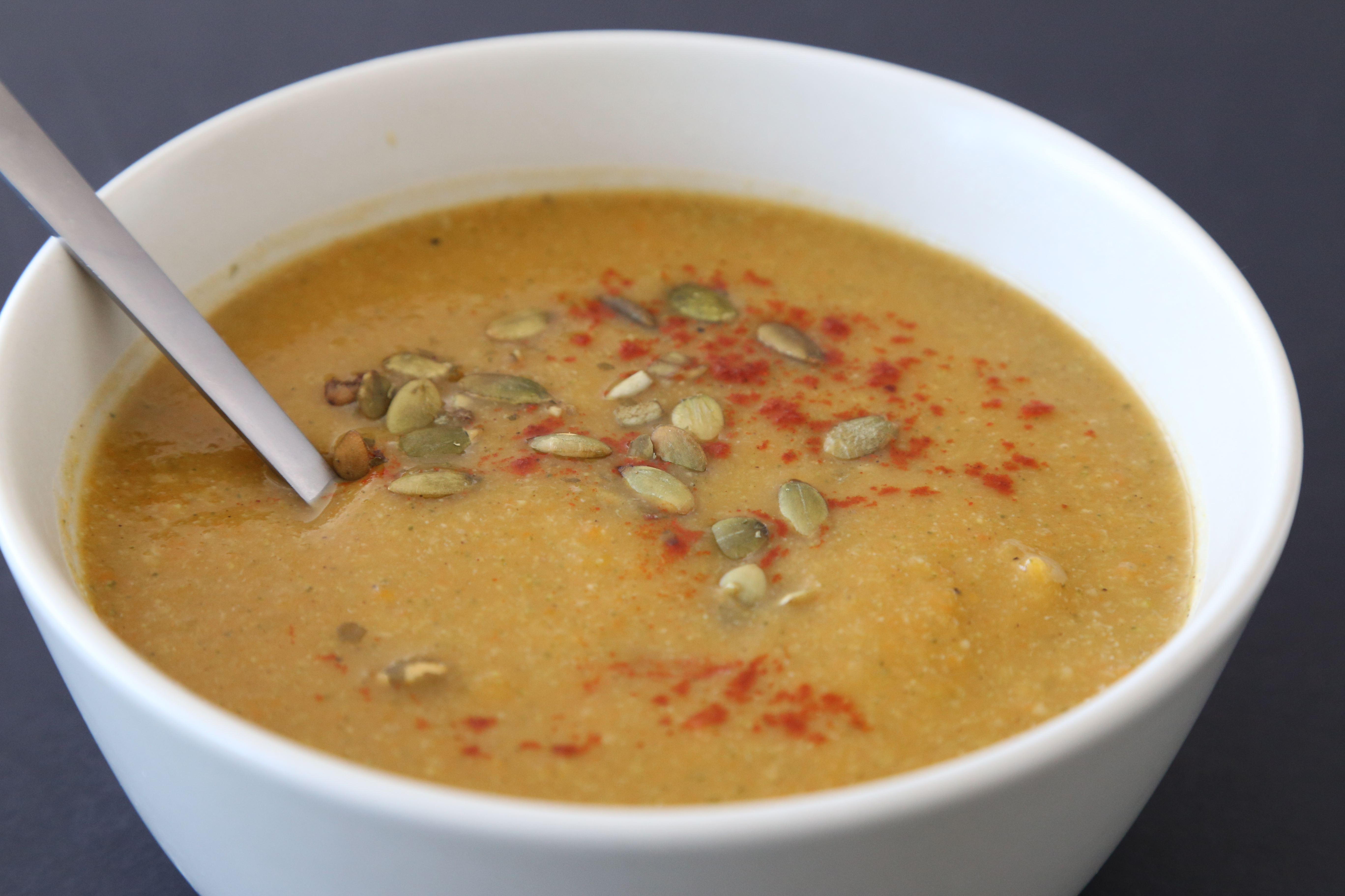 Meg's Food! | Creamy Seven Vegetable Soup - Meg's Food!