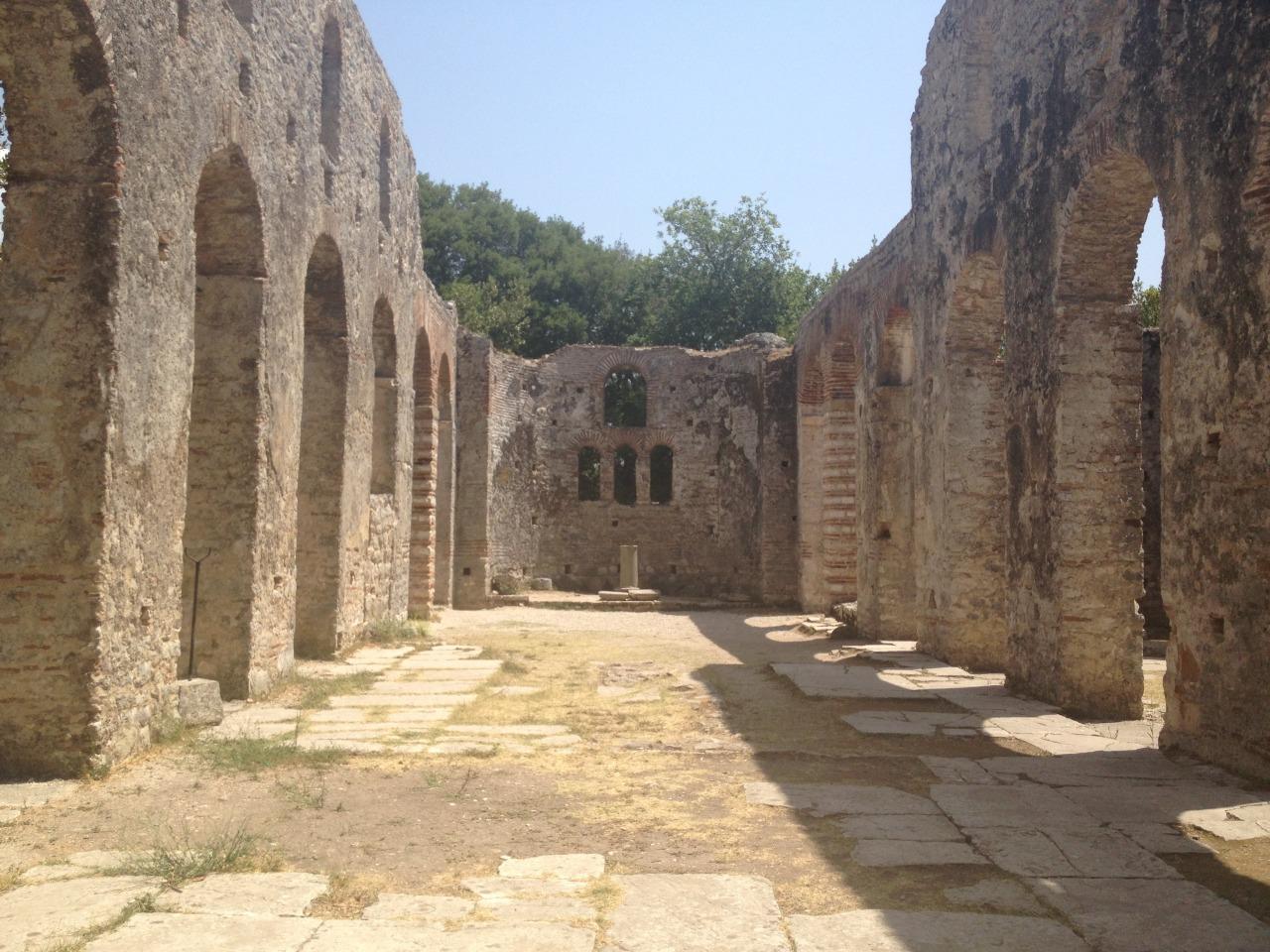 Butrint ruins, Albania