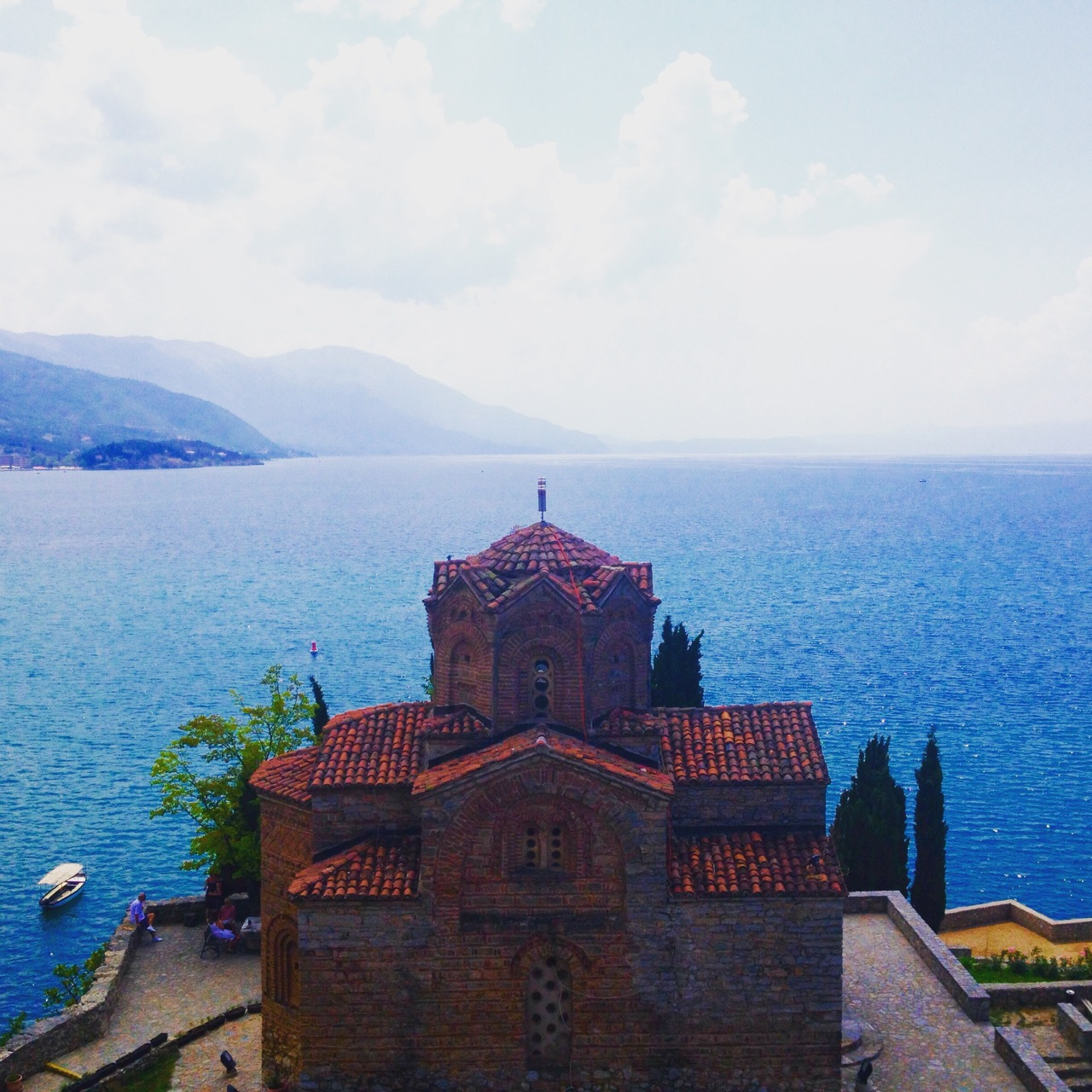 Beautiful views in Ohrid, Macedonia