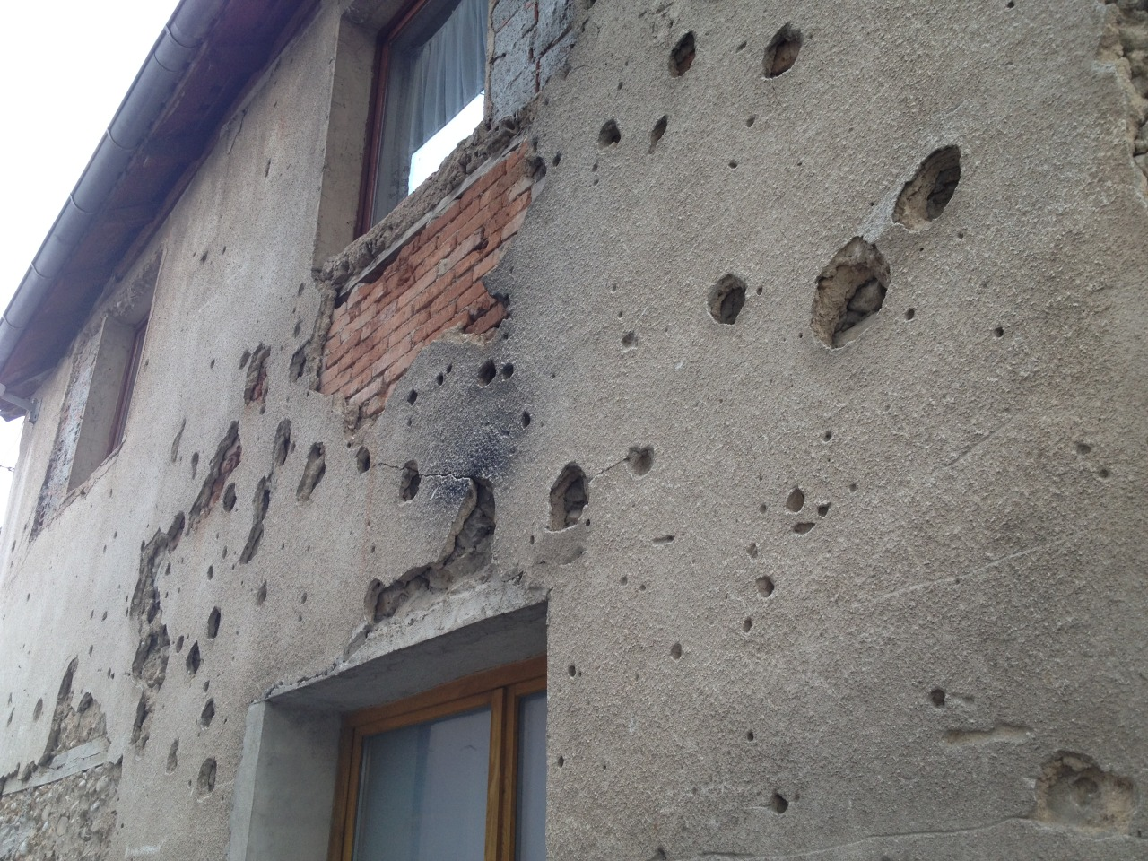More evidence of war in Sarajevo