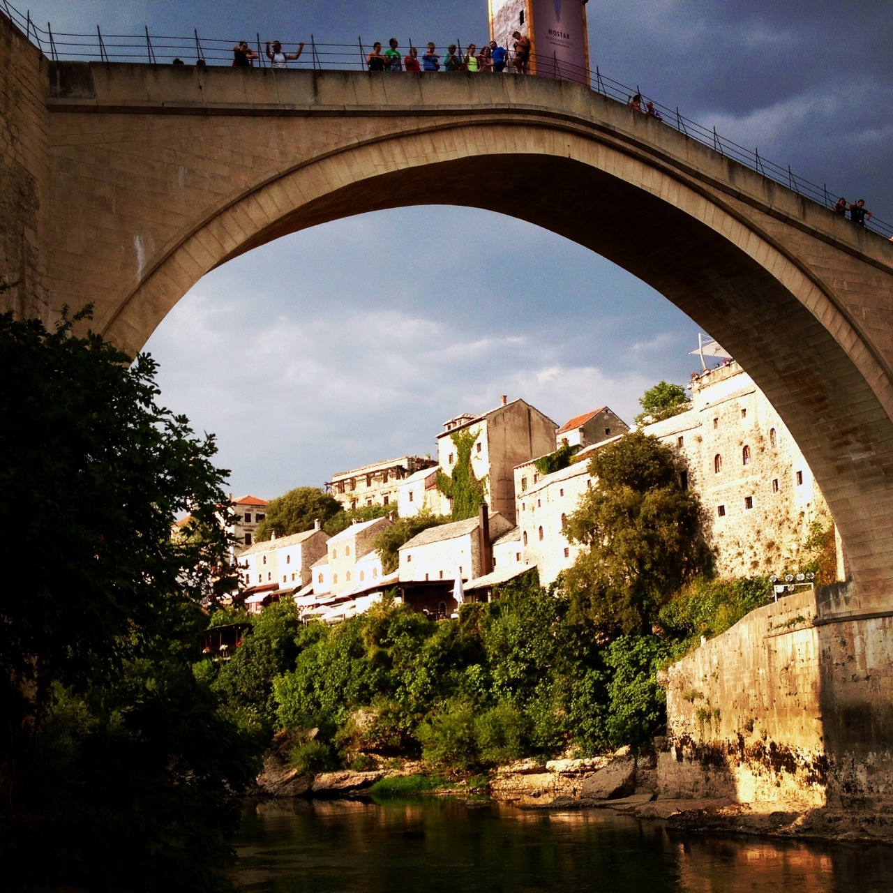 That famous bridge in Mostar