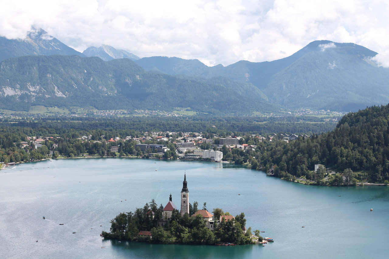 Beautiful Lake Bled, Slovenia
