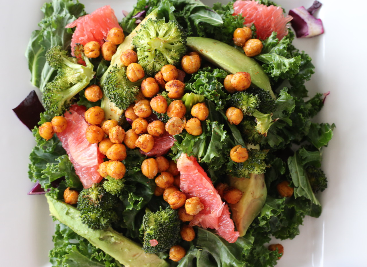 The Big green detox salad