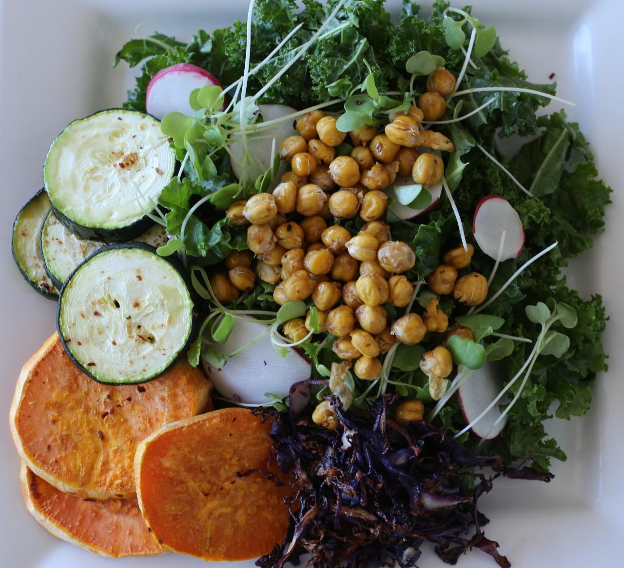 The big fat kale salad